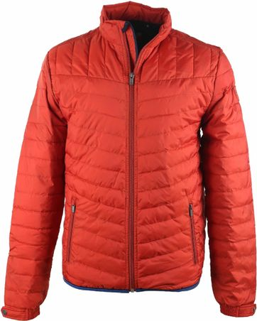 Suitable Puff Jacke Orange