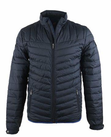 Suitable Puff Jacket Dunkelblau