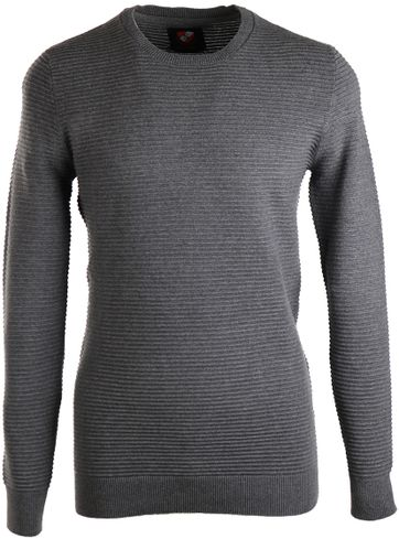 Suitable Pull Guido O-Neck Grey