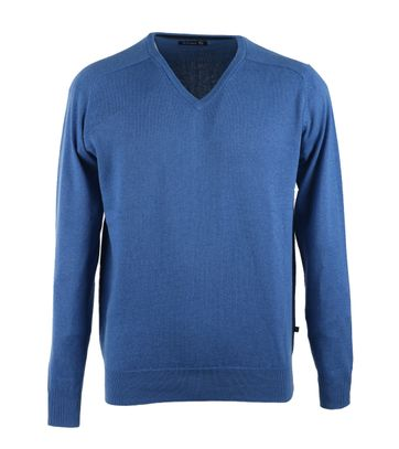 Suitable Pull V-Hals Royal Blauw