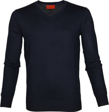 Suitable Pullover Aron Merino Navy