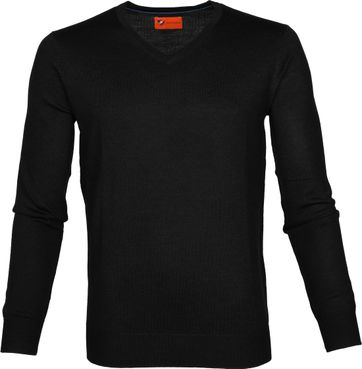Suitable Pullover Aron Merino Zwart