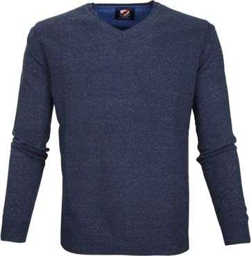 Suitable Pullover Basket Dunkelblau