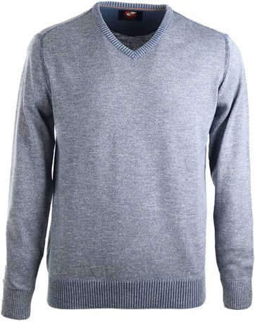 Suitable Pullover Baumwolle Hellblau