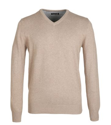 Suitable Pullover Beige Katoen