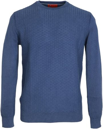 Suitable Pullover Blauw