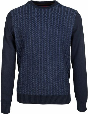 Suitable Pullover Cable Navy