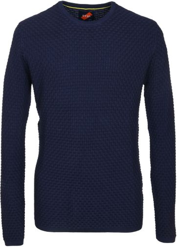 Suitable Pullover Coen Dunkelblau