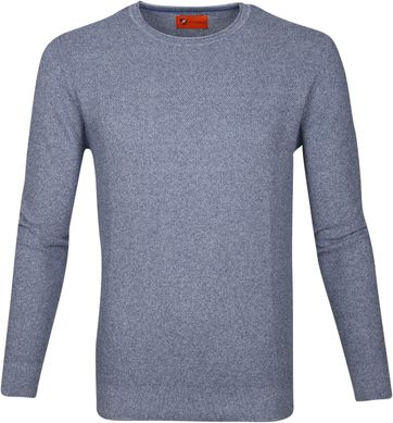 Suitable Pullover Hong Blue