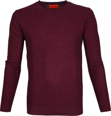 Suitable Pullover Hong Bordeaux