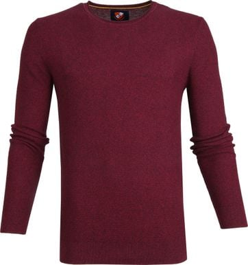 Suitable Pullover Hong Dunkelrot