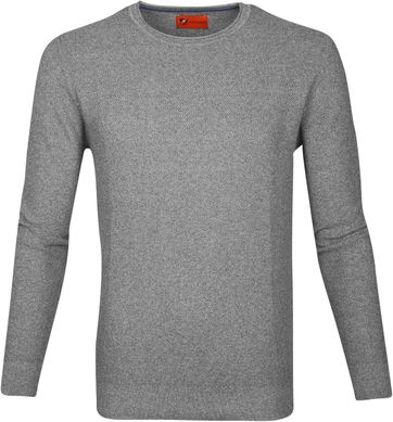 Suitable Pullover Hong Grey