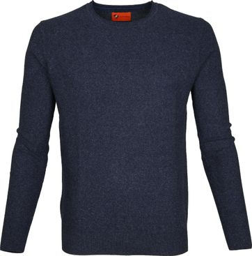 Suitable Pullover Hong Navy