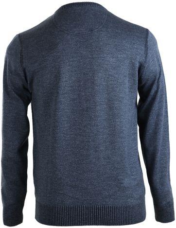 Detail Suitable Pullover Katoen Donkerblauw