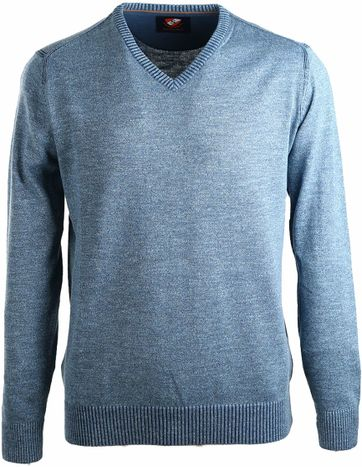 Suitable Pullover Katoen Petrol