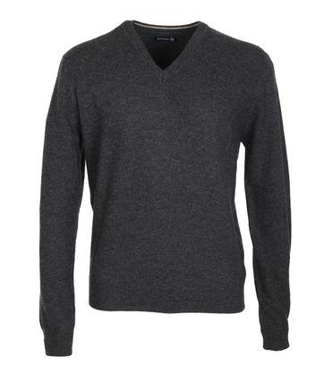 Suitable Pullover Lammwolle Anthrazit