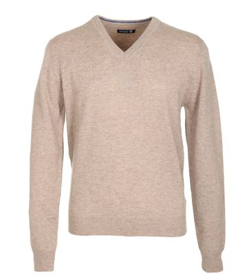 Suitable Pullover Lammwolle Beige