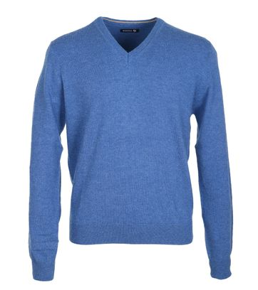 Suitable Pullover Lammwolle Blau