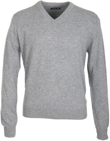 Suitable Pullover Lammwolle Grau