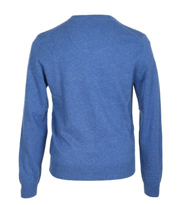 Detail Suitable Pullover Lamswol Blauw