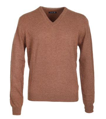 Suitable Pullover Lamswol Camel