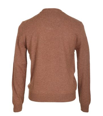 Detail Suitable Pullover Lamswol Camel