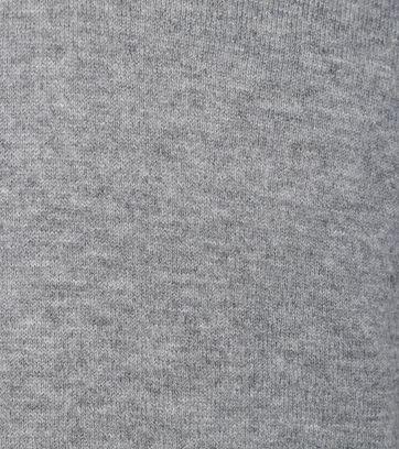 Detail Suitable Pullover Lamswol Grijs