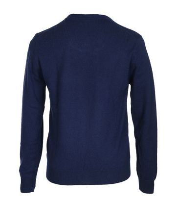 Detail Suitable Pullover Lamswol Navy