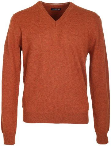 Suitable Pullover Lamswol Oranje
