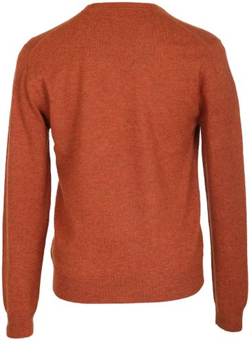Detail Suitable Pullover Lamswol Oranje