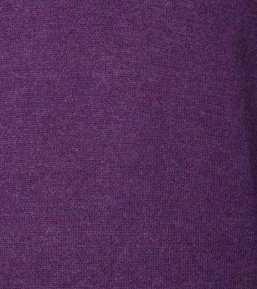 Detail Suitable Pullover Lamswol Paars