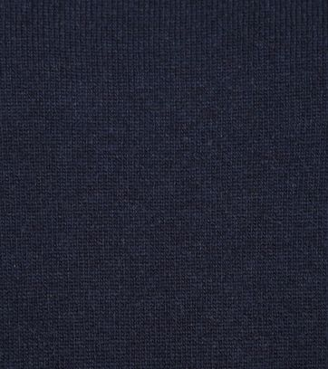 Suitable Pullover Lamswol V-Hals Navy