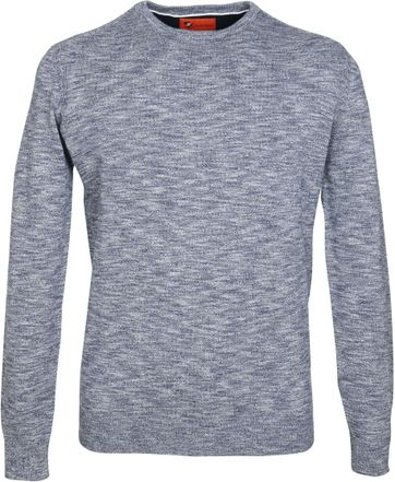 Suitable Pullover Melange Dunkelblau