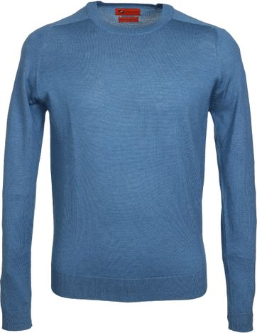 Suitable Pullover Merino Blau