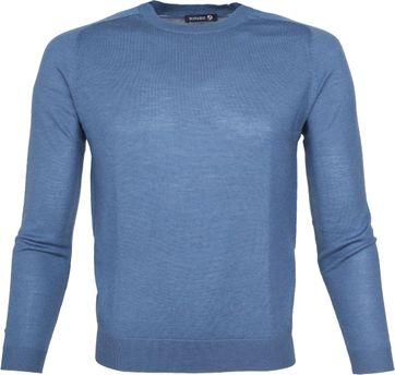 Suitable Pullover Merino Blau