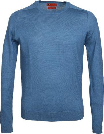 Suitable Pullover Merino Blue