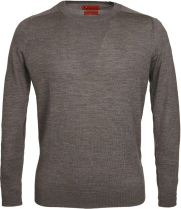 Suitable Pullover Merino Camel