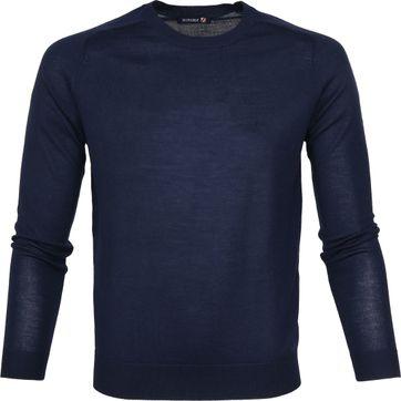 Suitable Pullover Merino Dunkelblau