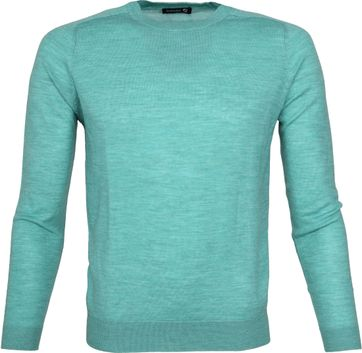 Suitable Pullover Merino Groen