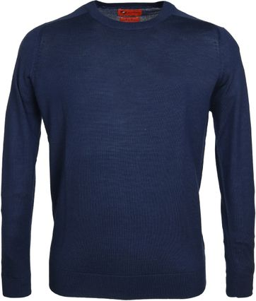 Suitable Pullover Merino Navy