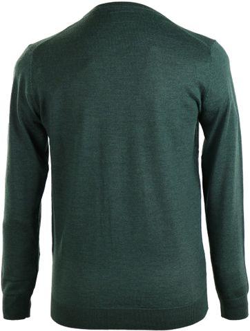 Detail Suitable Pullover Merino Wol Groen
