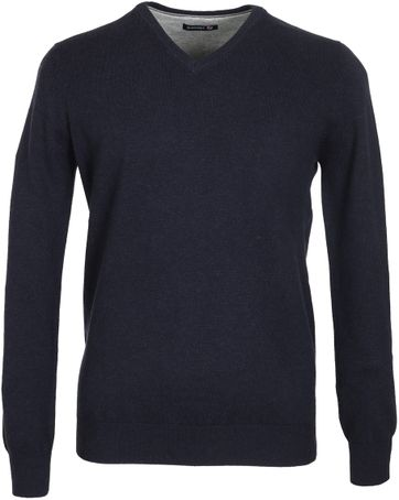 Suitable Pullover Navy Baumwolle