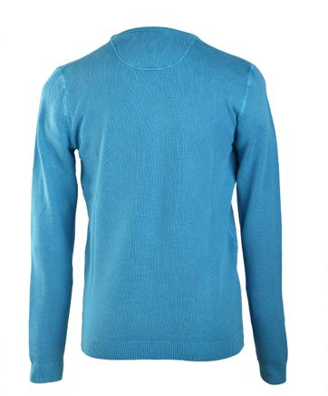 Suitable Pullover O-Neck Aqua