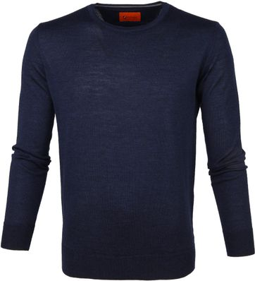 Suitable Pullover O-neck Navy