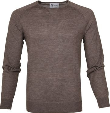 Suitable Pullover Prestige Merino Light Brown