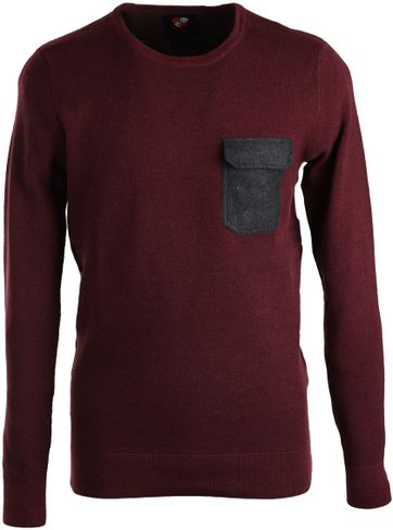 Suitable Pullover Ruud Bordeaux