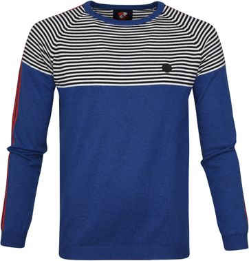 Suitable Pullover Tommie Blau
