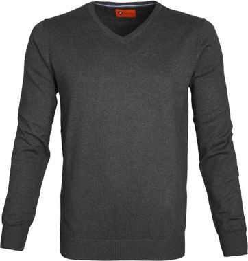 Suitable Pullover Vince Dark Grey