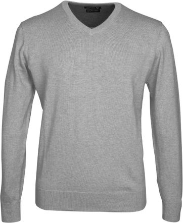 Suitable Pullover Vini Grijs