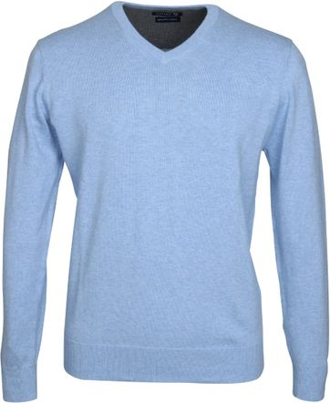 Suitable Pullover Vini Lichtblauw